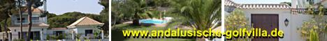 Golfvilla und Nebenhaus mit Pool