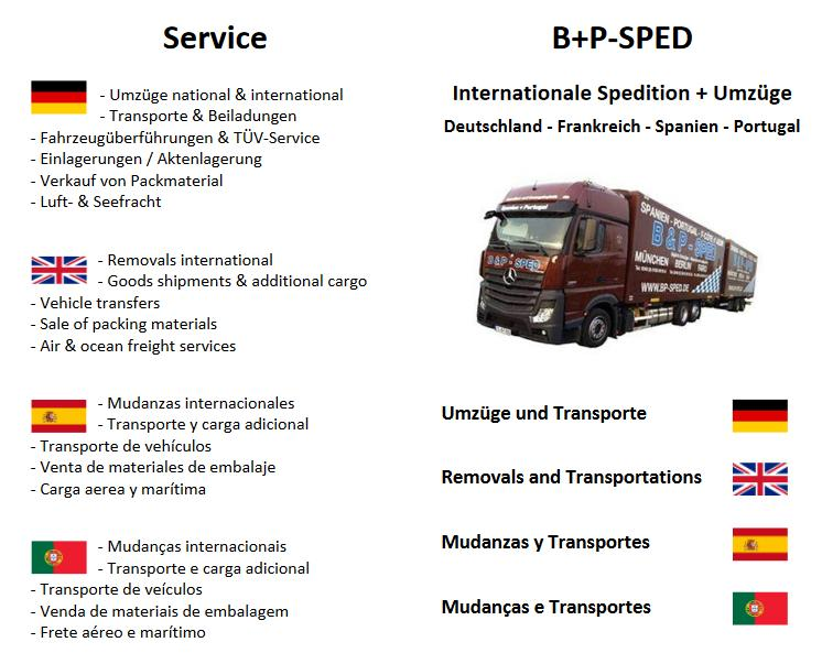 Informationen B&P-Sped