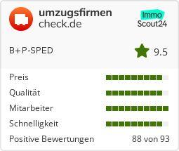 Umzugsfirma B&P-Sped auf Umzugsfirmencheck.de