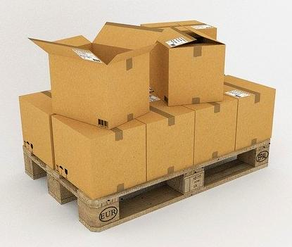 Verpackung Umzug